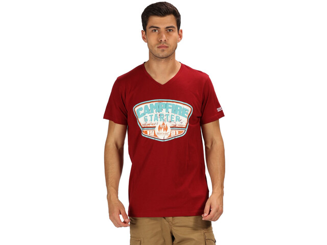 Regatta Calton T-Shirt Homme, delhi red